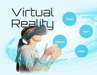 Virtual Reality VR Presentation Template