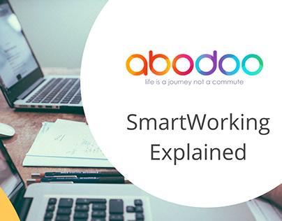 Diaramação de apresentação | SmartWorking Explained