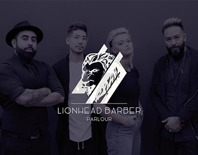 LionHead Barber Parlour Logo