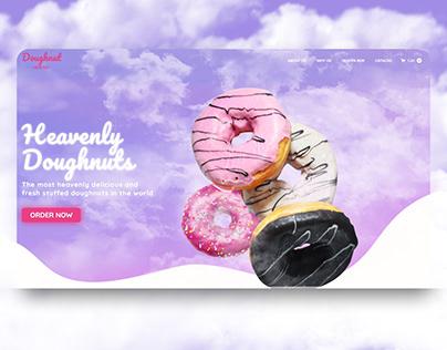 Doughnut Heaven Landing Page
