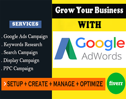 help your business to grow with google adwords and PPC