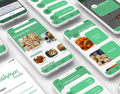 Kashmir Foods iOS