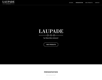 Laupade website