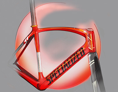 Specialized Allez Track Frame and Road shoe Concept