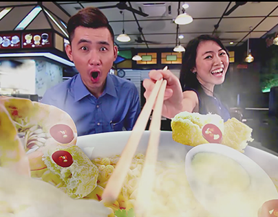 A1 Penang White Curry Instant Noodle 檳城白咖喱麵 (TVC)