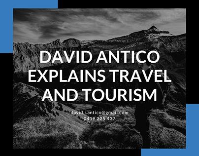 David Antico Explains Travel and Tourism
