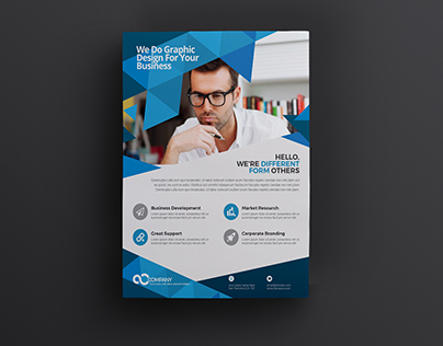 Corporate Abstract Style Flyer