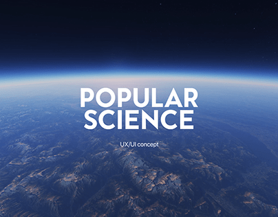 Popular Science magazine website