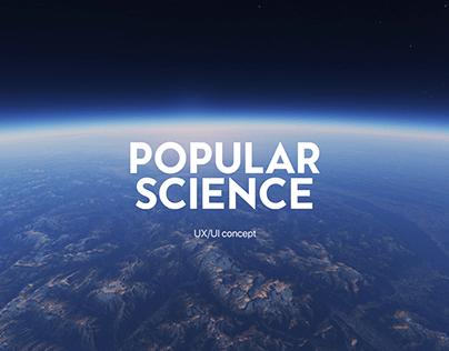 Popular Science magazine website
