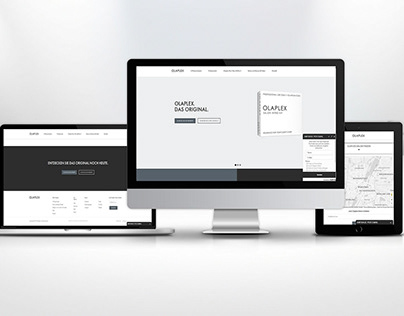 Olaplex Webseite