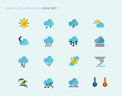 Meritage Icon Set