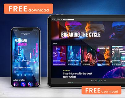 (FREE) iPad Pro Mockup and iPhone 13 Mockup