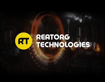 Разработка сайта для Reatorg Technologies