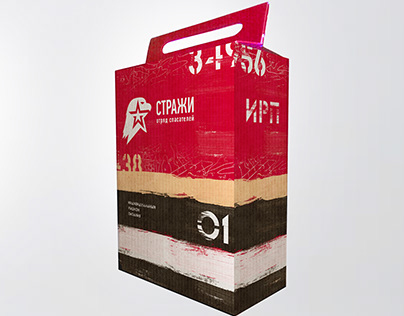 Field ration package design | Дизайн упаковки ИРП
