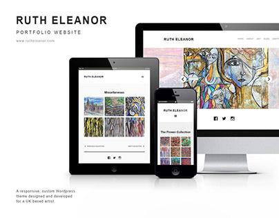Ruth Eleanor | Web design and build
