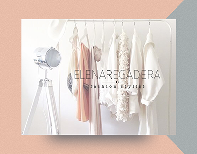 Art Direction & Web Design for TV Fashion Stylist