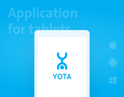 Yota App for tablet