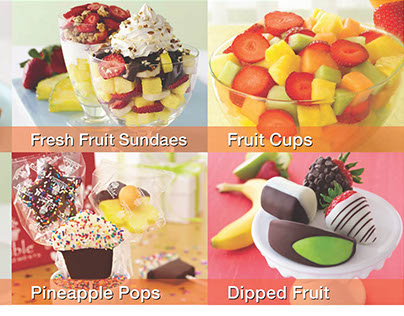 Edible Arrangements Advertising Flyer