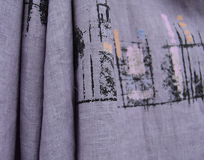 Urban Realignment Collection: Hand-Printed Textiles