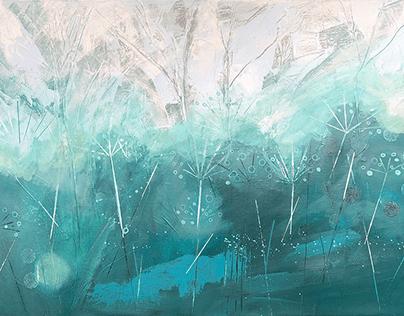 'Safe Haven' Acrylic onCanvas 76x51cm