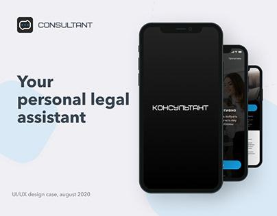 Consultant App & Site