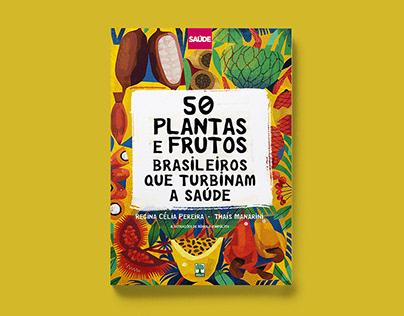 "Livro ""50 plantas e frutos brasileiros"""