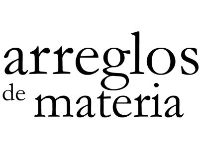 Arreglos de materia - Analisis UI Intervencion - 2015 1