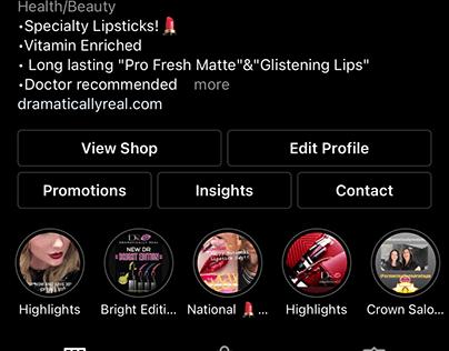Dramatically Real Lipstick Social Media Insights