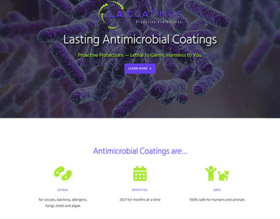 L.A. Coatings Website