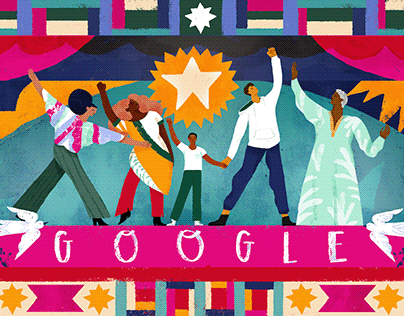 Juneteenth Google Doodle
