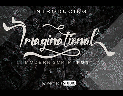 Imaginational Font | Best Calligraphy Font