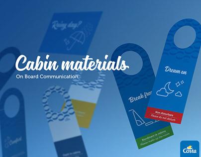 Cabin Materials · Costa Crociere