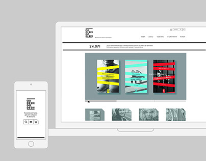"""Od deski do deski"" publishing house website"