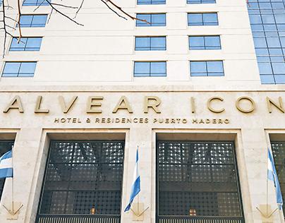 Alvear Icon Brand Identity + Brand Architecture.
