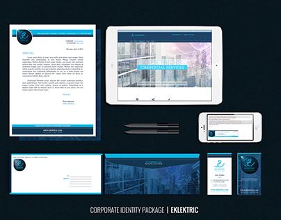 Eklektric Company Identity Package