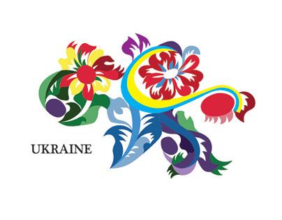 Touristic Logo for Ukraine