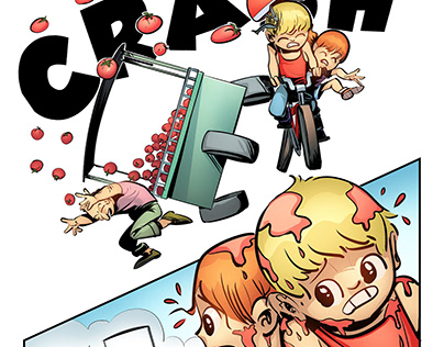 Comic Pilot - Tinkle and Tobi
