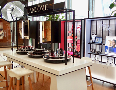Lancôme Pop Up Store - Iguatemi JK