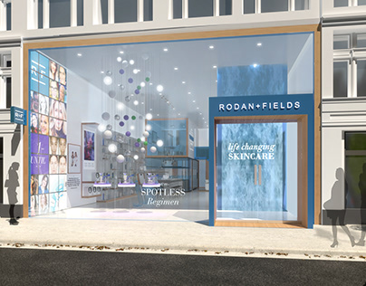 Rodan & Fields: Store Visualization