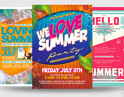 Summertime Flyer Bundle V3