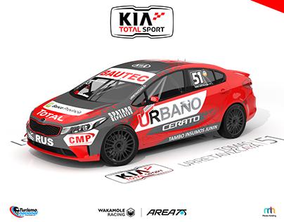 2017/2018 KTS Kia All New Cerato TN C3 Argentina.