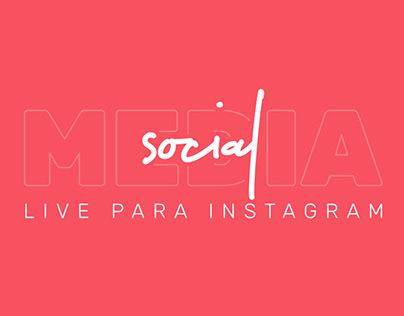 Social media | Live para Instagram