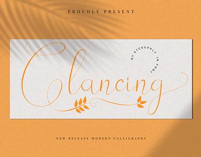 Glancing|Fonts