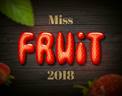 Miss Fruits