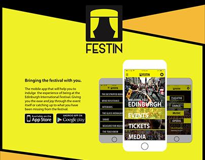 Festin App Poster Design