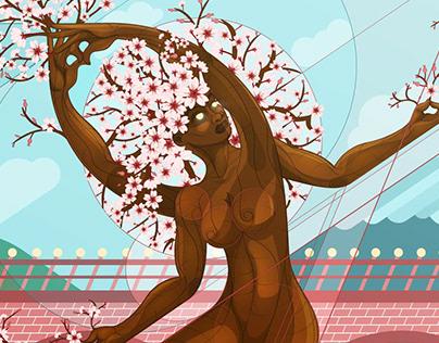 Vrksasana Blossom