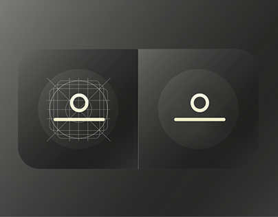 App Icon Design for levitating clock - STORY by Flyte