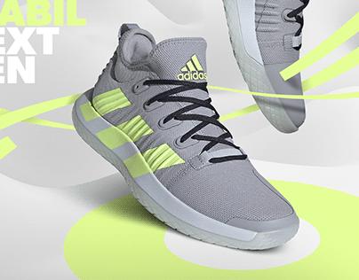 Adidas Stabil Next Gen ad design