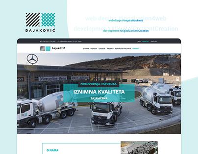 Dajakovic - website