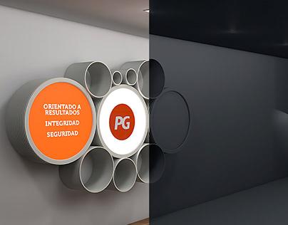 Diseño 3D Showroom